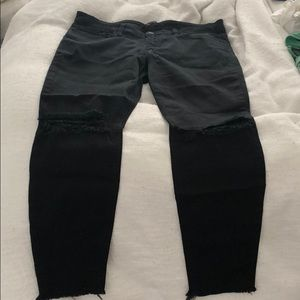 JOES Black Cropped Jeans
